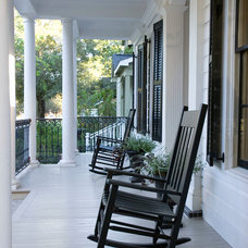 Traditional Porch by Collaborative Design Group-Architects & Interiors