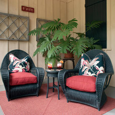 Traditional Porch by Kathryn Long, ASID