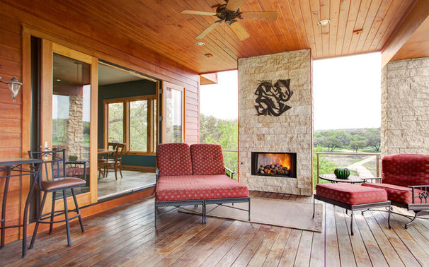 Contemporary Porch by Kailey J. Flynn Photography