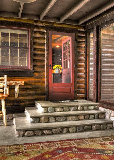 Rustic Porch by Lands End Development - Designers & Builders
