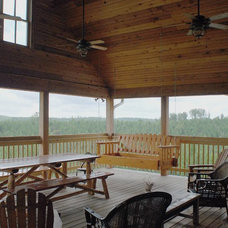 Traditional Porch by William Johnson Architect