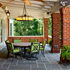Traditional Porch by Camery Hensley Construction, Ltd