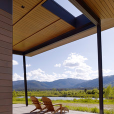 Modern Porch by Carney Logan Burke Architects