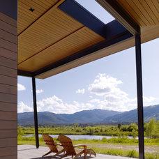 Modern Porch by Carney Logan Burke Architects