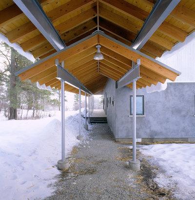 Лофт Веранда Industrial Porch