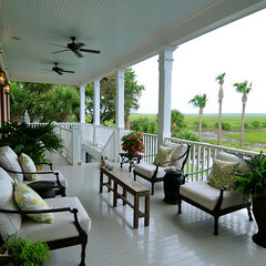 traditional porch by Julie O'Connor