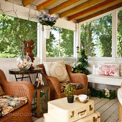 traditional porch by Chad Jackson Photo