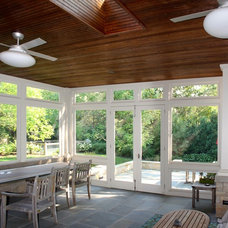 Traditional Porch by Kipnis Architecture + Planning