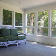 Traditional Porch by Heartstone Custom Builders