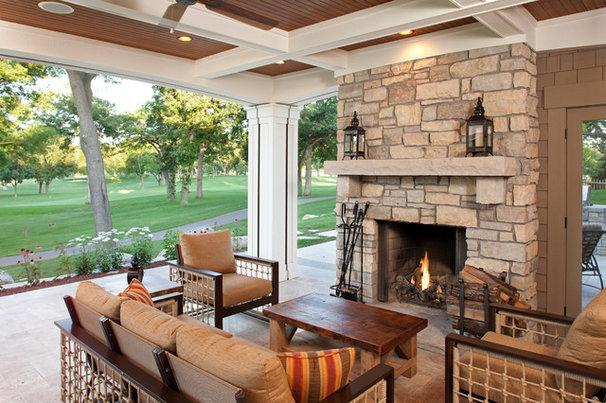 Traditional Porch by John Kraemer & Sons