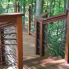 Back Porch Traditional Porch Atlanta By Dresser Homes