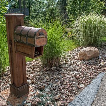 Ipe Wood Mailbox Post