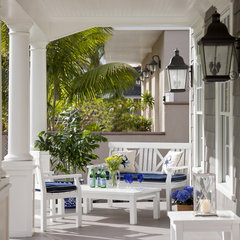 traditional porch by Flagg Coastal Homes