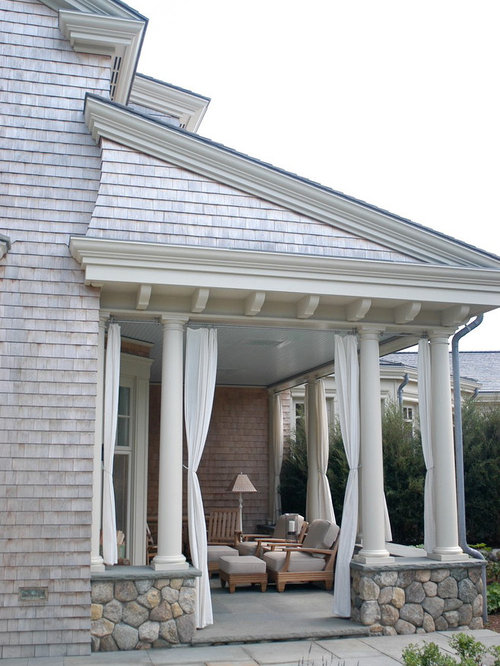Porch curtains houzz