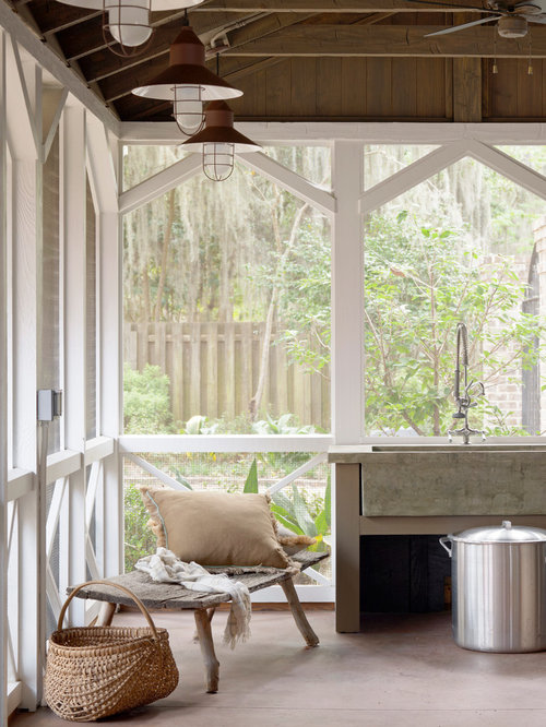 Screened porch lighting home design ideas pictures Screened in porch decor