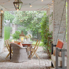 Traditional Porch by Linn Gresham Haute Decor