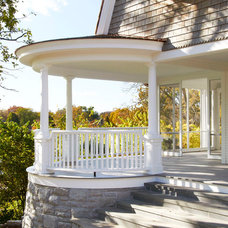 Traditional Porch by Ingrained Wood Studios