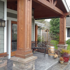 Traditional Porch by Yarbro Home Improvement LLC