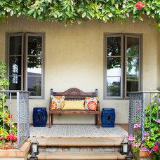 Mediterranean Porch by About:Space, LLC