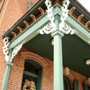 Immagine di un portico vittoriano