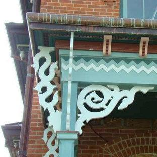 Foto di un portico vittoriano