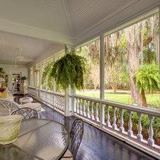 Traditional Porch by CHEATHAM FLETCHER SCOTT ARCHITECTS