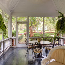 Traditional Porch by CHEATHAM FLETCHER SCOTT ARCHITECTS