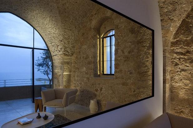 Mediterranean Porch by Pitsou Kedem Architect