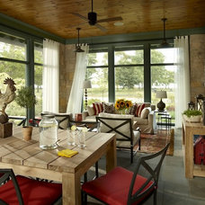 eclectic porch by jamesthomas, LLC