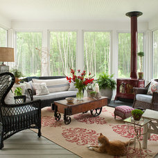 Farmhouse Porch by jamesthomas, LLC