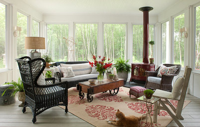Houzz Tour: Country Meets Contemporary in a Michigan Getaway