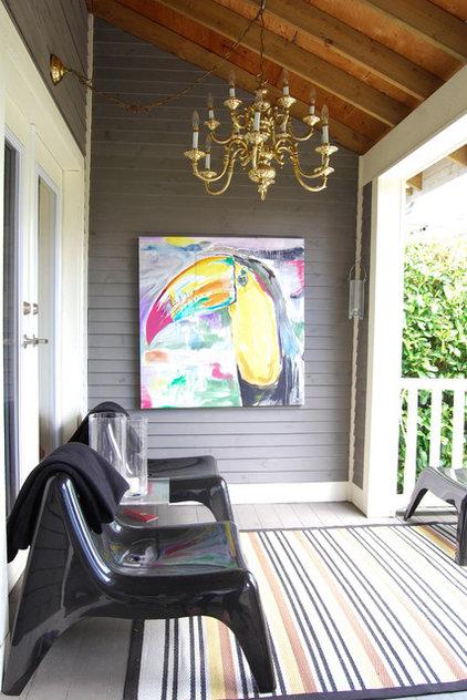 Eclectic Porch by Megan Buchanan