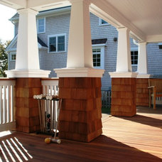 Beach Style Porch by Richard Bubnowski Design LLC