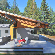 Contemporary Porch by Obie G Bowman
