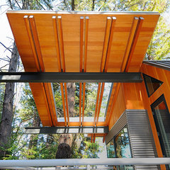 contemporary porch by Obie G Bowman