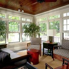 Traditional Porch by Jones Design Build