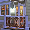 Flat-Sawn Balusters Give Railings All-Out Style