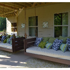 Traditional Porch by Vintage Porch Swings LLC