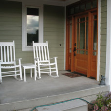 Traditional Porch by Image Design LLC