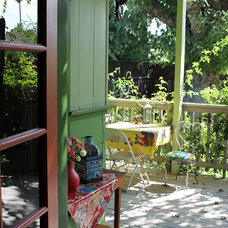 Eclectic Porch by Madison Modern Home