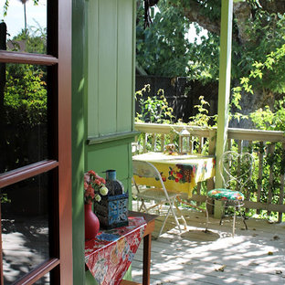Eclectic porch photo in Los Angeles