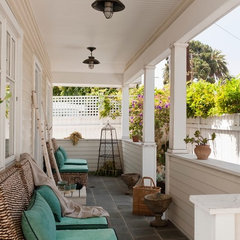 contemporary porch by Katerina Tana Design