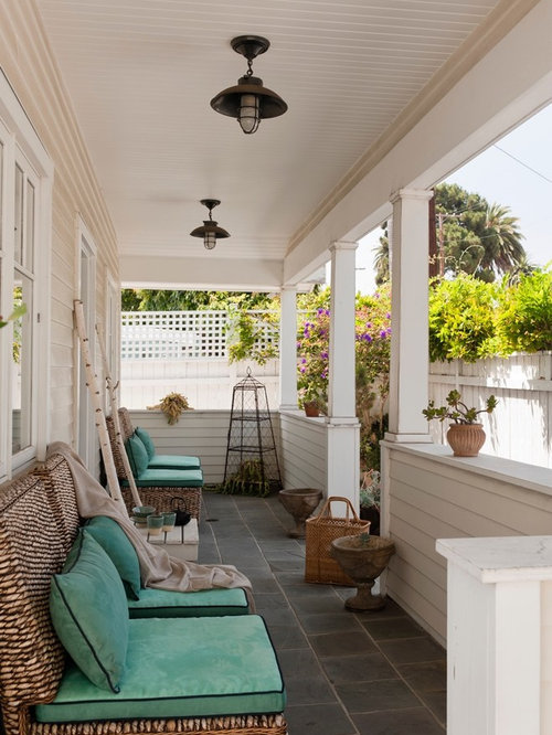 Hanging front porch light houzz for Front porch hanging light