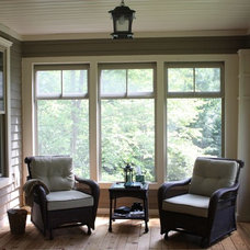 Traditional Porch by Katherine Joy Interiors