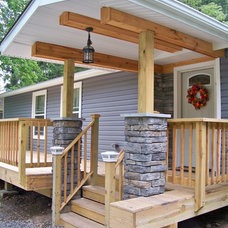 Traditional Porch by Kaufman Creative  Marketing & Design