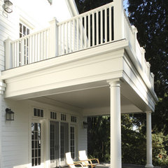 traditional porch by Giulietti Schouten Architects