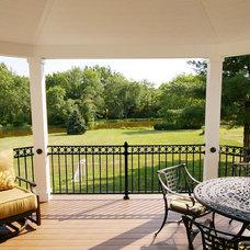 Contemporary Porch by Environmental Landscape Associates