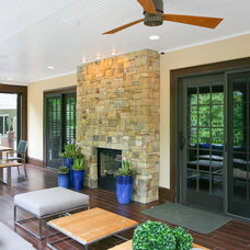 Contemporary Porch by M. Crisler Designs, LLC