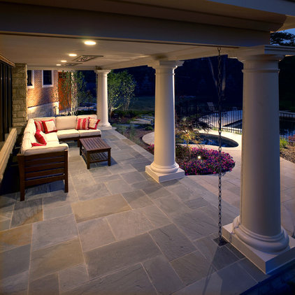 Traditional Porch by kevin akey - azd architects - michigan