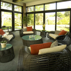Contemporary Porch by kevin akey - azd architects - michigan